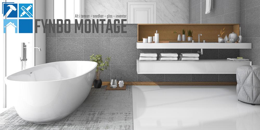 Nyt badeværelse i top kvalitet til fair pris. Montering af Badmiljø ...