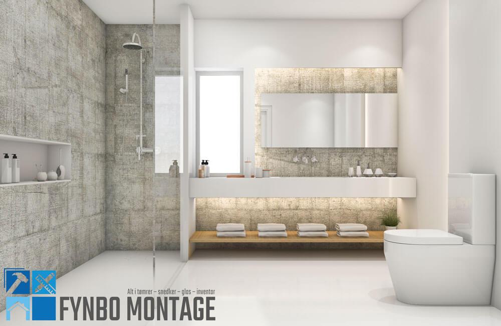 nyt badeværelse pris Nyt badeværelse i top kvalitet til fair pris. Montering af  nyt badeværelse pris